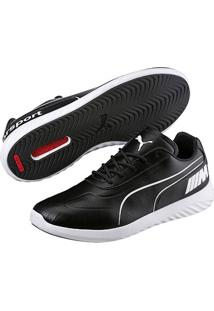 Tênis Puma Bmw Mms Speed Cat Evo Synth Masculino - Masculino-Preto+Branco