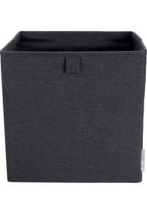 Cubo Organizador Preto 31,5Cm