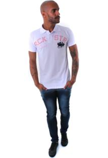 Camisa Polo Rockstar Cavalo Jogo Gelo
