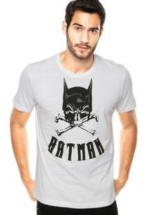 Camiseta Fashion Comics Batman Branca