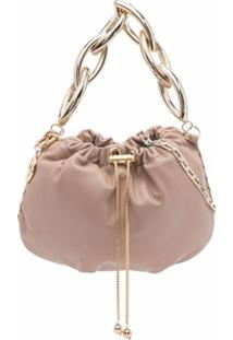 Rosantica Bubble Drawstring Shoulder Bag - Neutro