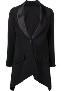 Unravel Project Asymmetric Blazer - Preto