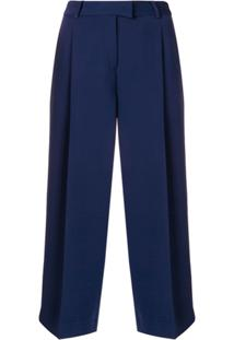 Michael Michael Kors Calça Cropped - Azul