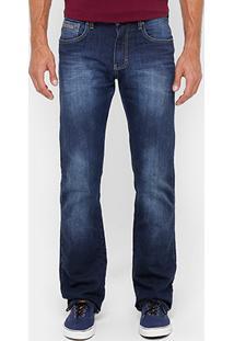 Calça Jeans Forum Paul Indigo Reta Masculina - Masculino
