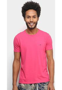 Camiseta Ellus Básica Masculina - Masculino-Pink