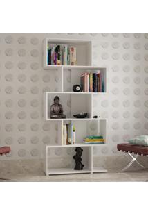 Estante Para Livros Regular Be 08 Branco - Brv Móveis