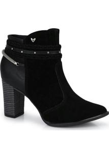 Ankle Boots Mississipi Preto Preto