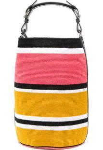 Colville Striped Tote Bag - Amarelo