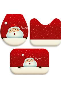 Jogo Tapetes Para Banheiro Cute Noel Único Love Decor - Kanui