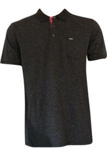 Camiseta Polo Linen Hurley - Masculino