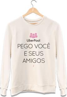 Moletom Uber Pool