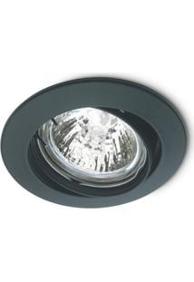 Spot Embutir Direcionável 50W 220V Preto 148010003 Startec