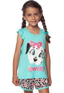 Pijama Dã¡Lmata- Rosa & Azulpuket