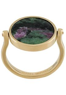Isabel Marant Julius Stone-Embellished Ring - Verde
