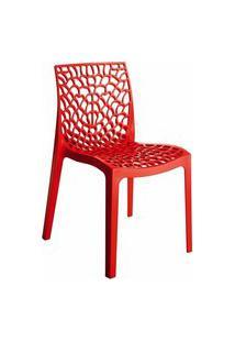 Cadeira Byartdesign Gruvyer Vermelho