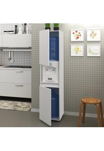 Armário De Cozinha Para Bebedouro 2 Portas Bl3312 Branco - Tecno Mobili
