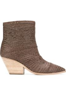 Casadei Ankle Boot - Marrom