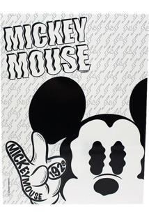 Quadro Mickey E Minnie Preto E Branco