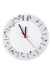 Relogio De Parede Musica 25Cm