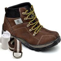 c24d240bb2f07 Kit Bota Adventure Dexshoes Com Cinto E Meia - Masculino