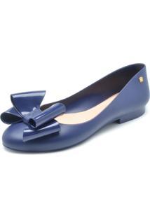 Sapatilha Petite Jolie Laço Azul
