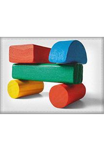 Jogo Americano Decorativo, Criativo E Descolado | Brinquedo De Carrinho De Madeira - Tamanho 30 X 40 Cm