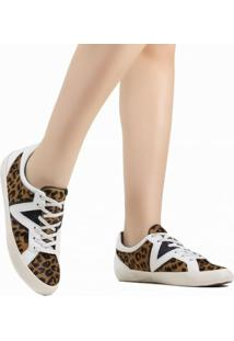 Tênis Casual Schutz Animal Print