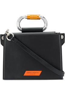 Heron Preston Carabiner Shoulder Bag - Preto
