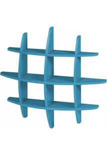 Prateleira Hashtag Média Azul