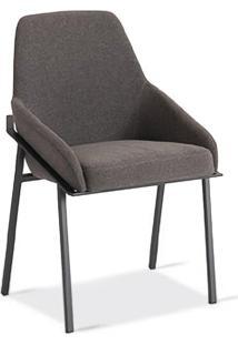 Cadeira Com Braço Viana Estofada Design Contemporâneo Design By Estúdio Casa A