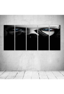 Quadro Decorativo - Obscure Face - Composto De 5 Quadros