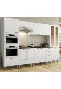 Cozinha Completa 8 Peã§As Americana Multimã³Veis 5656Mf Branco - Branco/Incolor - Dafiti
