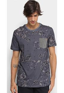Camiseta Longline Mcd Especial Arabesc Masculina - Masculino