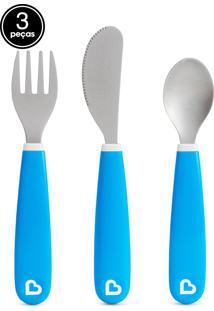 Kit De Talheres Azul Munchkin