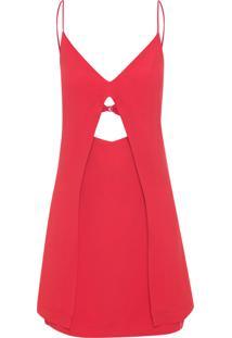 Vestido Lud - Vermelho