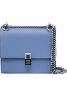 Fendi Bolsa Tiracolo 'Kan I' Pequena - Azul
