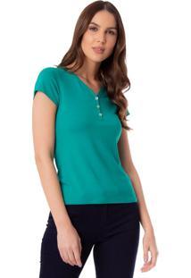 Blusa Feminina Rovitex Verde - P