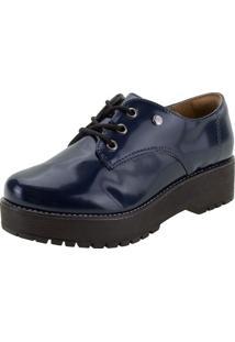 Sapato Feminino Oxford Via Marte - 207305 Marinho 35