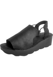 Sandália S2 Shoes Suelen Preto - Kanui