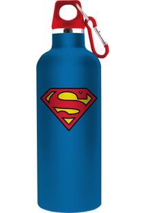 Garrafa Termica Dc Superman Azul