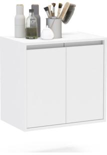 Gabinete De Banheiro Una 2 Pt Branco