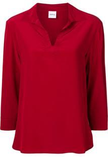 Aspesi Camisa Estilo Túnica - 05292 Red