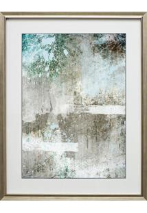 Quadro Decorativo Abstract Blue Ii
