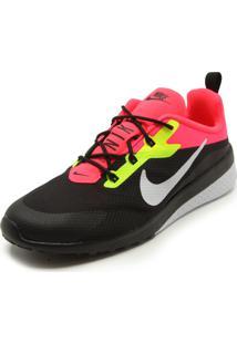 Tênis Nike Sportswear Ck Racer 2 Preto/Rosa