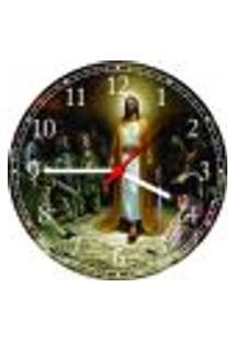 Relógio De Parede Jesus Religiosidade Catolicismo