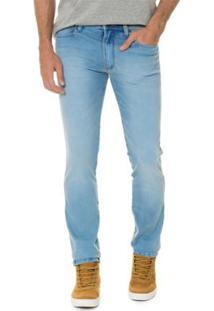 Calça Timberland Jeans Special Blue Skinny Masculina - Masculino-Azul Claro