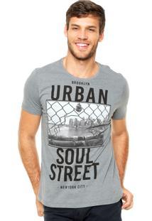 Camiseta Kohmar Urban Cinza