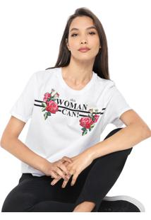 Blusa Cativa This Woman Can Branca