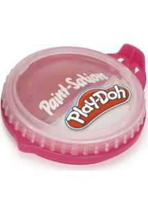 Conjunto De Artes - Play-Doh - Tinta Para Pintar - Pote 2 Em 1 - Vermelho E Branco - Fun