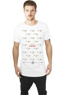 Camiseta Jay Jay Caveira Be Different Branca